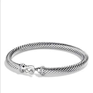 BUNDLE of 2 David Yurman Bracelets with Diamonds